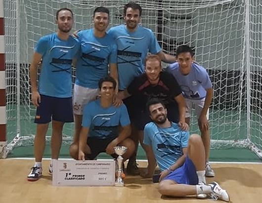 El equipo 'Kintana' de fútbol sala campeón de las '24 horas' de Campanario por sexto año