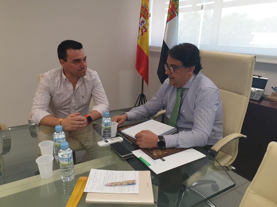 Raimundo Dávila se reunió con Vergeles para abordar la enfermedad de la silicosis
