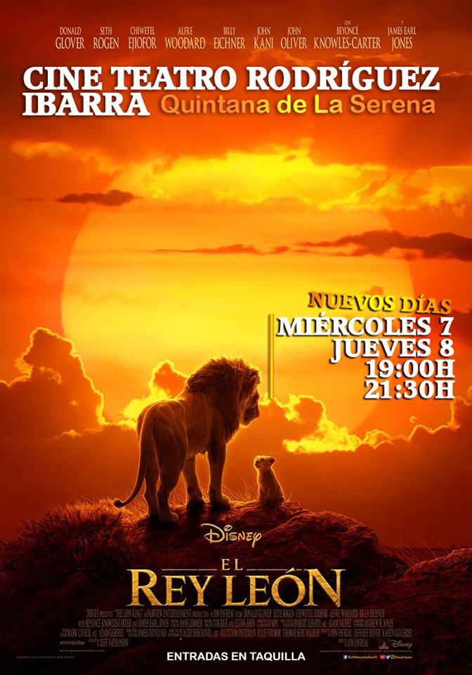 El Rey León vuelve a proyectarse mañana y pasado en el cine Rodríguez Ibarra debido al éxito precedido