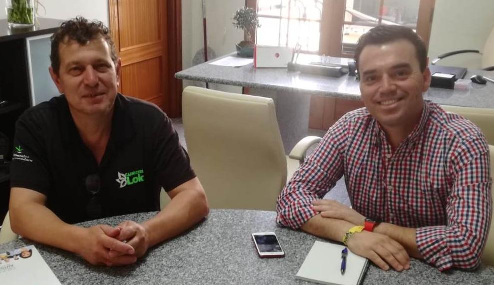 CEAT Quintana presenta al alcalde sus primeras propuestas