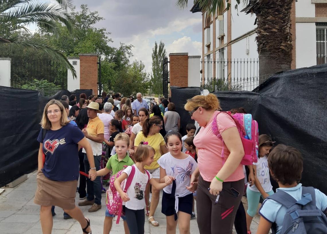 El CEIP Virgen de Guadalupe pierde 24 alumnos de Infantil en el nuevo curso