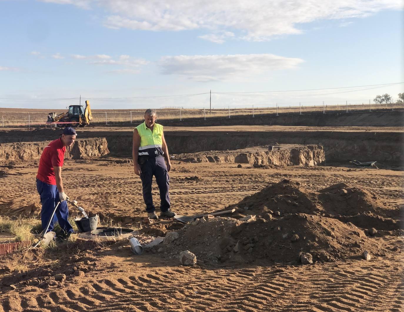 Las obras del nuevo colegio, que comenzaron en el mes de julio, van tomando forma