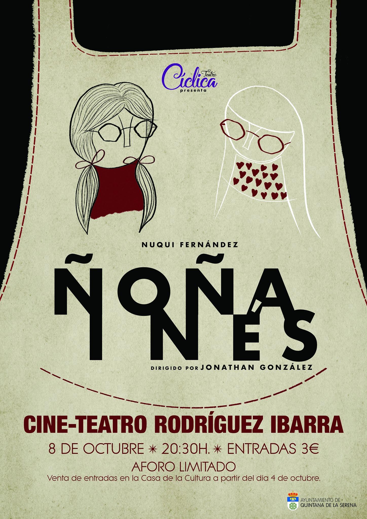 'Ñoña Inés' esta tarde en el Rodríguez Ibarra