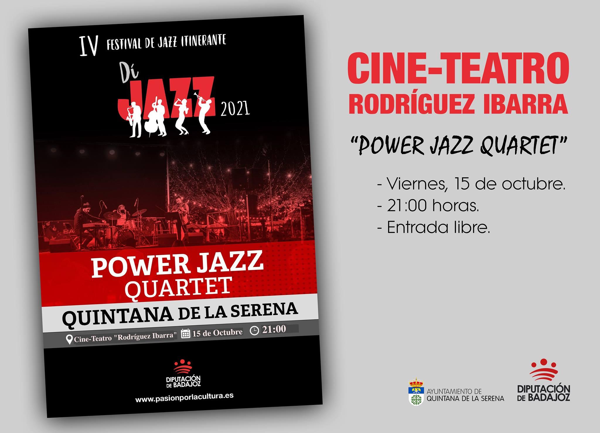 Sesión de Jazz esta tarde en el Rodríguez Ibarra