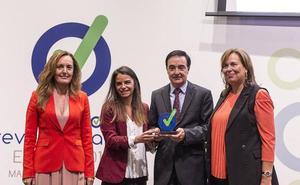 Apamex recibe el premio 'Prevencionar 2018' a la prevención de riesgos laborales de personas con discapacidad