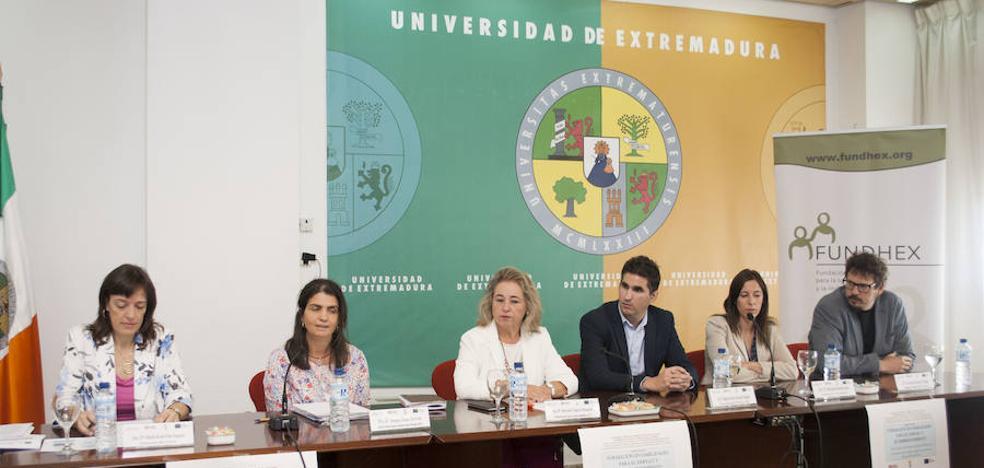 La UEx pone en marcha la segunda edición de una formación para el empleo dirigida a personas con discapacidad intelectual