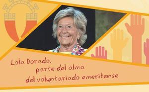 Homenaje a Lola Dorado tras veinte años al frente del Voluntariado de Mérida
