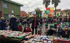 La San Silvestre Solidaria del colegio Montero de Almendralejo reunió a mil escolares
