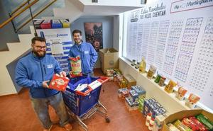 El Banco de Alimentos de Badajoz cierra el año con 2.500 beneficiarios menos