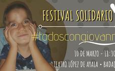 Este domingo, festival solidario 'Todos con Giovanni'