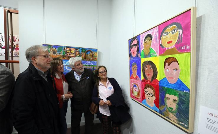 Muestra de pinturas de Down Mérida
