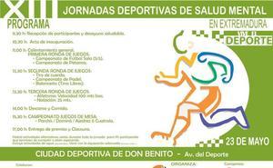 Feafes Salud Mental Extremadura celebra las XIII Jornadas Deportivas de Salud Mental