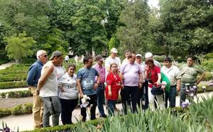 Una treintena de personas con discapacidad intelectual visita en Madrid el Jardín Botánico y el Museo Reina Sofía gracias a Mensajeros de la Paz en Extremadura