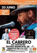 Ecología y flamenco unidos de la mano en el concierto de El Cabrero en Arroyo de Luz