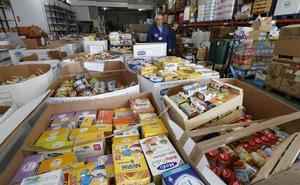El Banco de Alimentos ayuda a 3.000 personas al mes en Plasencia