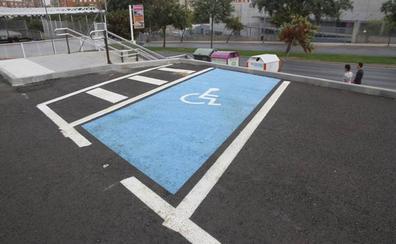 Habilitan en el estadio Príncipe Felipe de Cáceres aparcamientos para personas con discapacidad