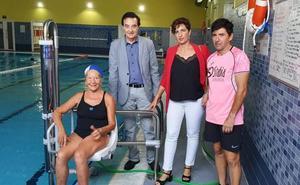 Un centro deportivo de Mérida, referente en accesibilidad