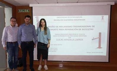 Lucas Aradilla obtiene el premio al mejor proyecto de accesibilidad de la UEx
