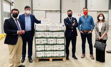 Las cooperativas extremeñas se vuelcan con la campaña 'Ningún hogar sin alimentos'