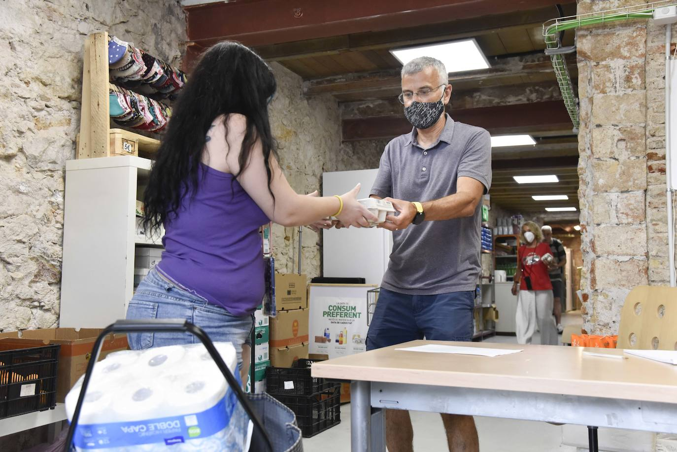 La Fundación 'la Caixa' y CaixaBank recaudan 44.147 euros para los Bancos de Alimentos de Extremadura