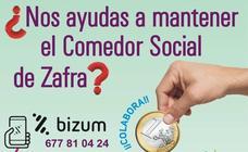 Zafra Solidaria inicia una campaña de recaudación de fondos para su comedor social a través de Bizum