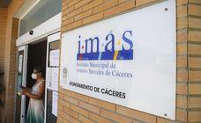 El IMAS de Cáceres destina 100.000 euros a financiar 32 proyectos de entidades sociales