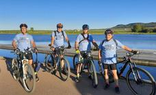 Cuatro jubilados harán 825 kilómetros del Camino de Santiago a beneficio de AOEX