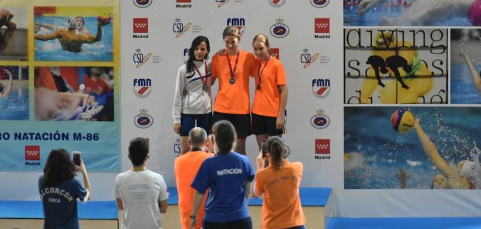 Andrea Franco se hace con seis medallas en el Campeonato de Madrid