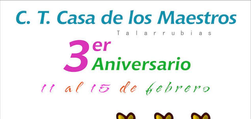 AFAD Recuerda Extremadura cumple el tercer aniversario de su Centro Terapéutico de Talarrubias