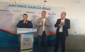 Monago presenta a García Sánchez como candidato a la alcaldía