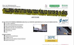 El PAT ofrece talleres gratuitos en Barquilla y Santa María