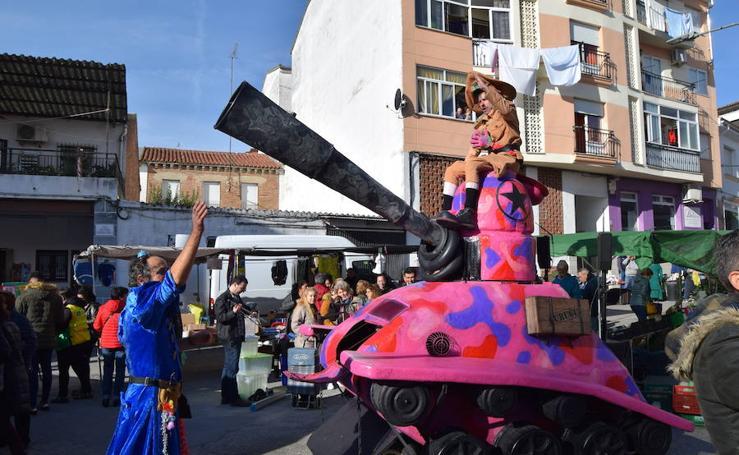 Talayuela vivió una jornada de solidaridad con 'Tanque Gurugú'