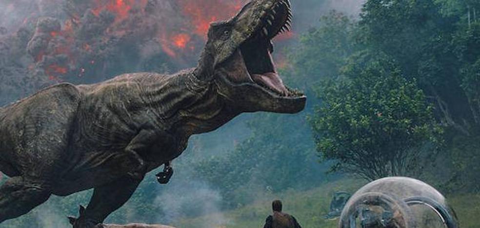 Este lunes, 'Jurassic World: El reino caído' en el cine de Navidad