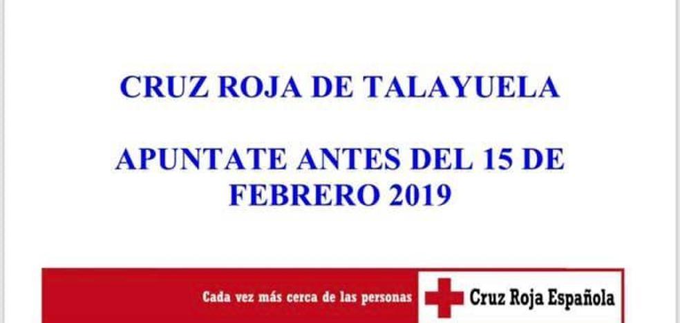 Cruz Roja imparte en Talayuela tres cursos