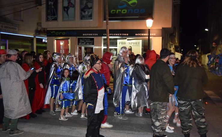 Desfile nocturno, Carnaval 2019