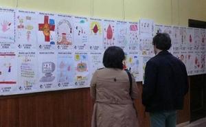 Los donantes de sangre expondrán desde el jueves en Navalmoral los dibujos del concurso infantil y juvenil