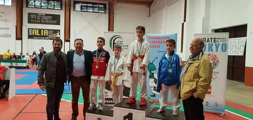 Buenos resultados de La Escuela de Karate de Talayuela en los últimos campeonatos