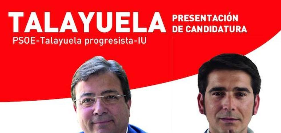 PSOE, Talayuela progresista e IU presentan su lista a las elecciones municipales