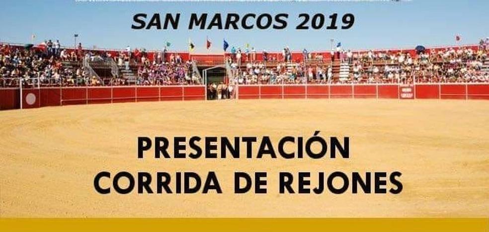 Talayuela acogerá un festejo de rejones en San Marcos 2019