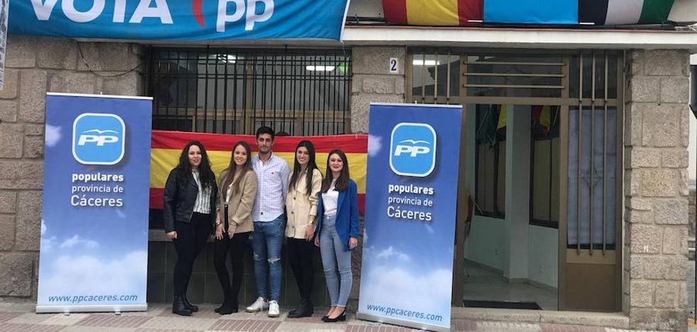 Presentación de las nuevas Generaciones del Partido Popular en Talayuela