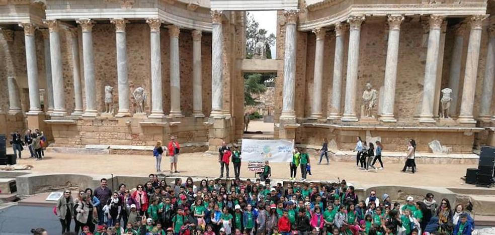 Los colegios Gonzalo Encabo y Juan Güell participan en Mérida en el Día Mus-e