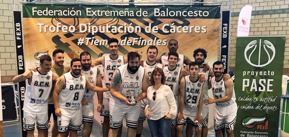 Francisco y Manuel Correas se proclaman campeones del Trofeo Diputación de baloncesto