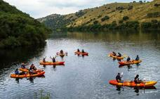 Nuevo descenso interpretado en kayak por el río Tajo