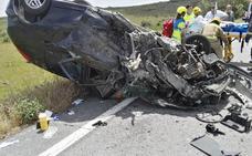 Tres personas resultan heridas en un accidente entre dos coches cerca de Jaraíz de la Vera