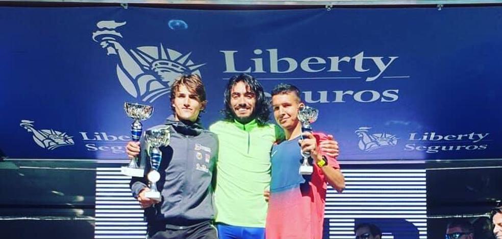 Houssame Benabbou termina en tercera posición en la Carrera Liberty