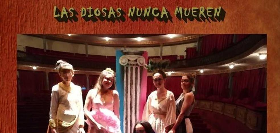 Los alumnos del San Martín representan mañana la obra «Las Diosas nunca mueren»