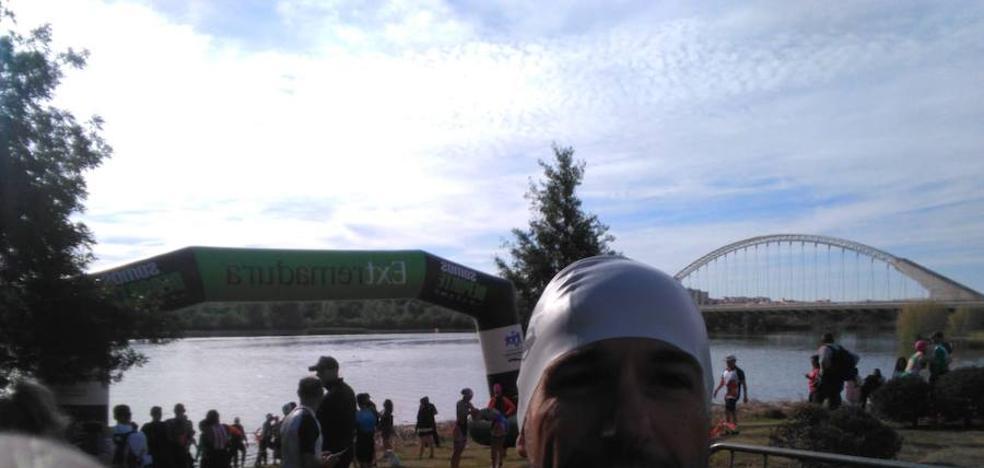 Jorge Campos destaca en el XI triatlón ciudad de Mérida