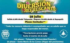 El Ayuntamiento organiza un viaje al Aquopolis el próximo 28 de Julio