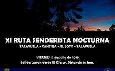 Este viernes, ruta senderista nocturna Talayuela-Cantina-El Soto-Talayuela