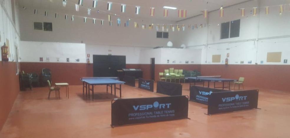 146 jugadores se darán mañana cita en el Torneo de Tenis de Mesa de Tiétar